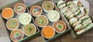 Assorted Soup & Sandwich Platter